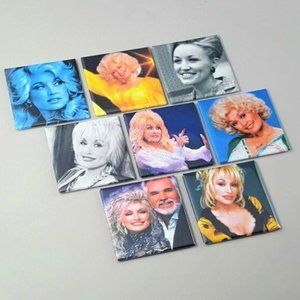 Dolly Parton Button Pinbacks Jewelry Country LGBTQ